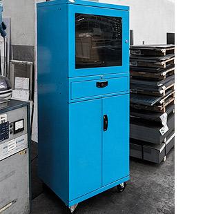 Mobile Porta Computer In Metallo.Mobile Porta Pc