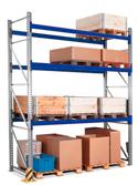 Scaffalatura portapallets industriale modulo base