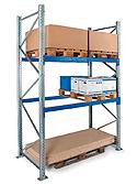 Scaffalatura portapallets modulo base