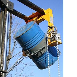 girafusti in acciaio per carrello elevatore