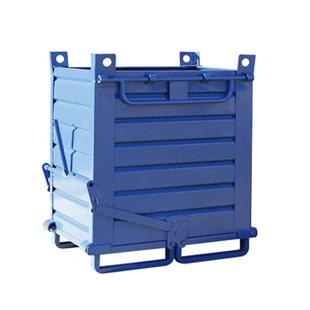 contenitori in lamiera per l'industria e il magazzino