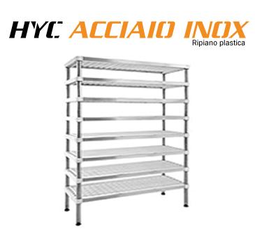 Scaffalature in acciaio HYC