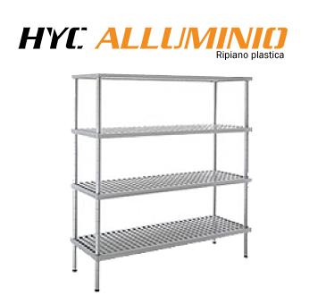 Scaffalature in alluminio HYC
