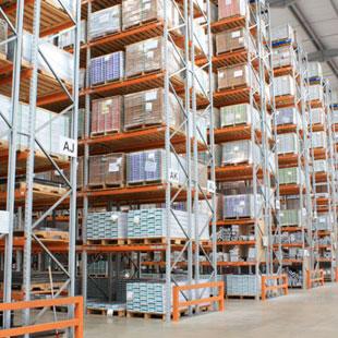 scaffalature per magazzino