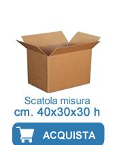 scatole cartone 40x30x30