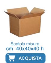 scatole cartone 40x40x40
