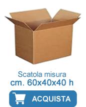 scatole cartone 60x40x40