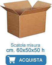 scatole cartone 60x50x50