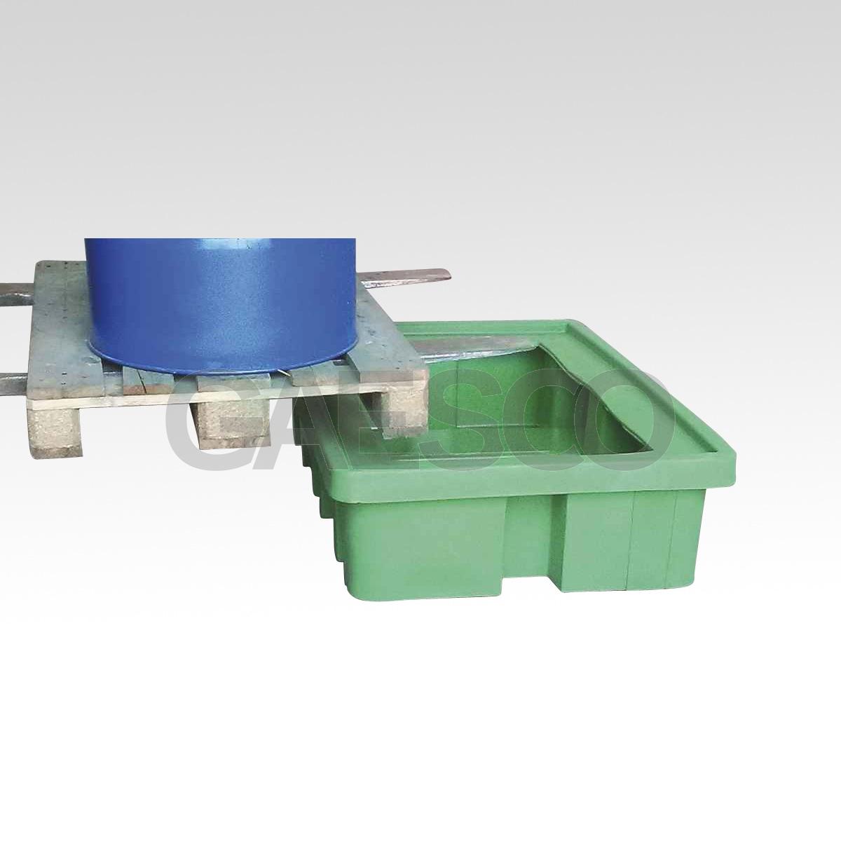 Vasca in plastica per 2 fusti 210 lt for Vasca in plastica per tartarughe