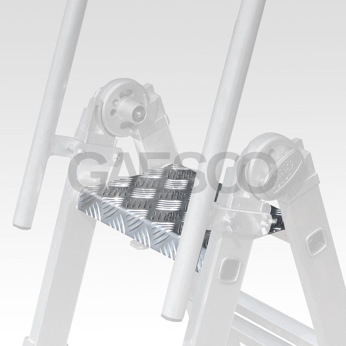 Piattaforma In Lamiera Mandorlata Alluminio