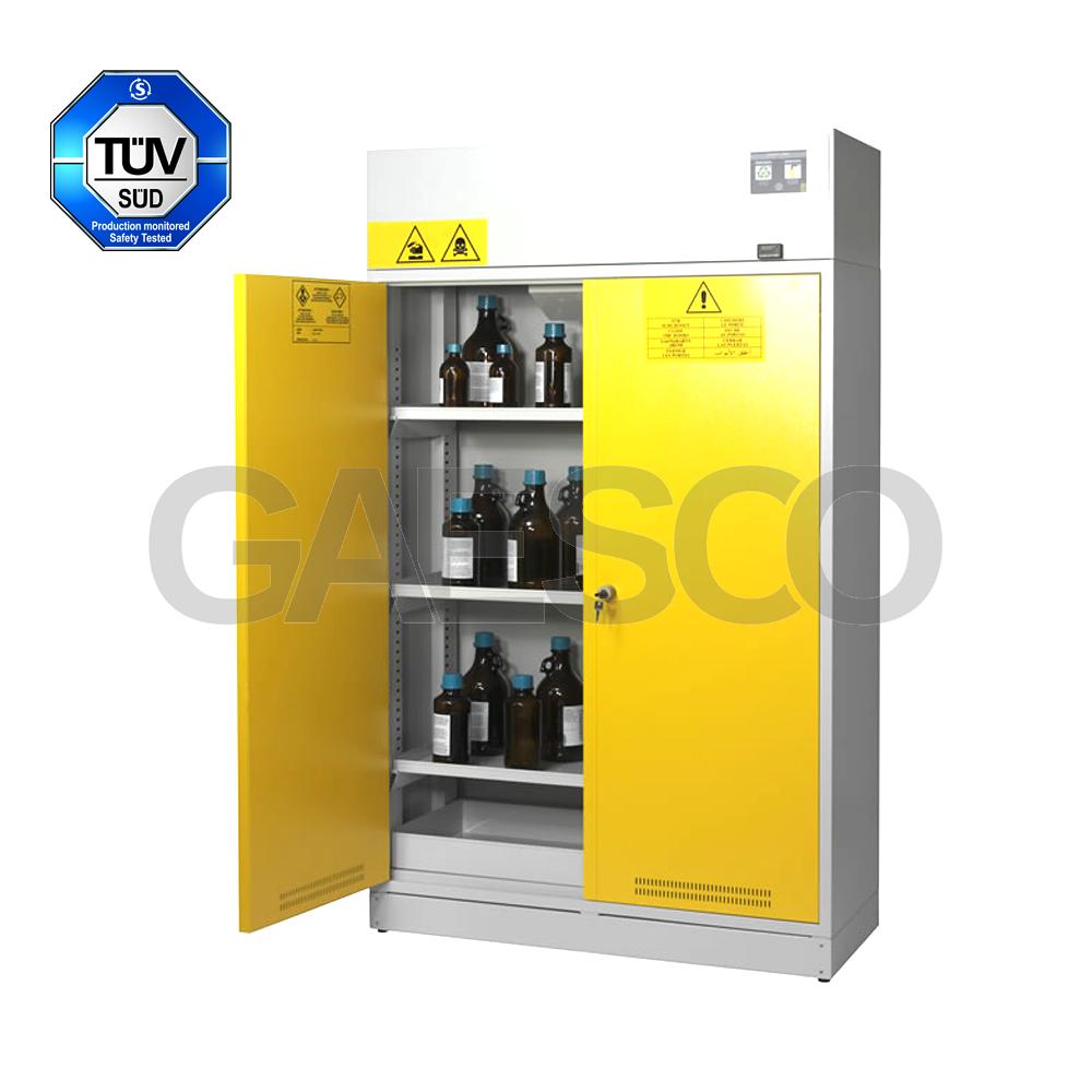 armadio di sicurezza per infiammabili aspirato - 160 lt