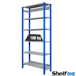Scaffali a gancio Shelf One / cm. L.150xP.60xH.300-BASE